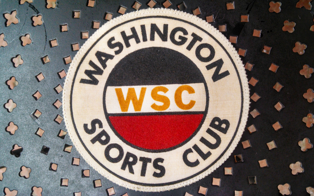 Once upon a time, WRC's antecedent clubs, dating back to the 1950s, had patches in the national colors of Germany: black, red, and gold. This fine example comes from the estate of Norman Brand, and will be passed along to future recipients of the Alfred tomFelde Perpetual  Trophy.